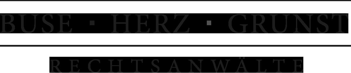 Logo Buse Herz Grunst
