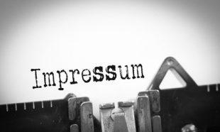 Impressum Websites
