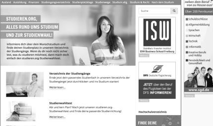 Bannerwerbung auf Websites