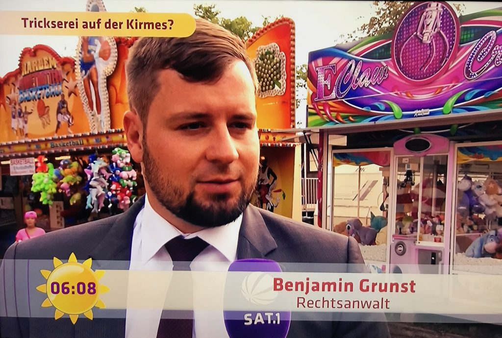 RA Benjamin Grunst, Interview in Sat1